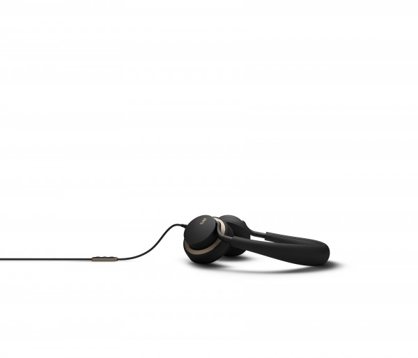 Jays U-JAYS Apple remote on-ear headphones in Black and Gold